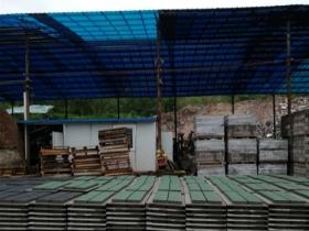 生态透水砖厂房