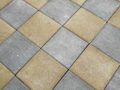 景区透水砖停车场施工