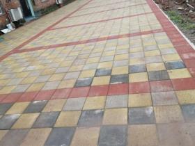 公路透水砖施工