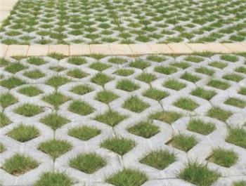 八字植草砖