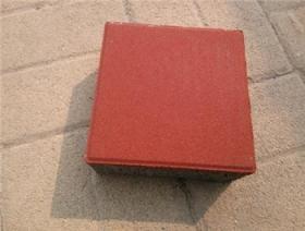 涪陵红色透水砖